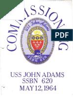 Commissioning Booklet - SSBN-620 - USS John Adams