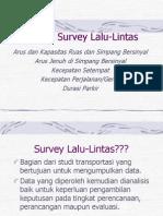 metode survey lalu lintas