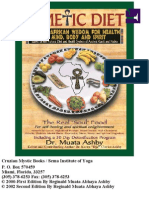 Kemetic Diet Ancient African Wisdom for Health of Mind Body and Spirit