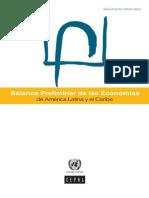 Balance Preliminar de las Economías de Latam 2012