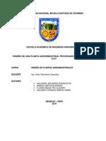 DISEÑO DE UNA PLANTA AGROINDUSTRIAL PROCESADORA DE CONSERVAS DE  CARNE DE CUY EN SALSA DE MANI Y SALSA DE PACHAMANCA.docx final
