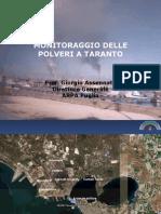 Monitoraggio Delle Polveri a Taranto_Giorgio Assennato