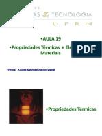 Aula_19_propriedades térmicas e elétricas