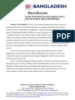 U_S_ Supports BD_s Next Generation of Public Health Experts_ Nov 19_ 2012