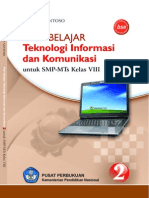 Buku TIK SMP Kelas VIII - Mari Belajar Teknologi Informasi & Komunikasi