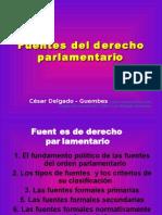 CDG - Fuentes del Derecho Parlamentario (PERU) . Presentación