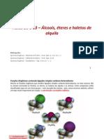 Aula 10 a 13 - Alcoois Eteres e Haletos de Alquila-Alterada