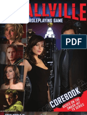 Smallville - Corebook | Entertainment (General) | Leisure