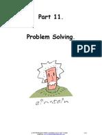 Part 11 Problem Solving
