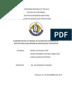 SISTEMA DE GESTION INTEGRAL EMPRESA DE SERVICOS