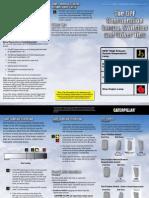 Cat Driver Information Card - LEDT7022