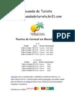 Pousada Do Turista - Pacotes Carnaval