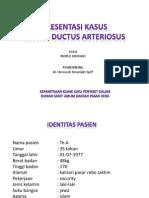 Presentasi Kasus PDA