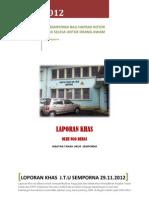 Laporan Khas Jabatan Tanah Dan Ukur Semporna 2012 (1)