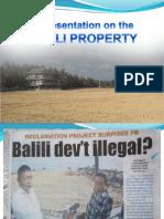 Presentation on Balili Propertyfinal