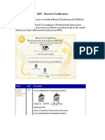 Basel II Certification