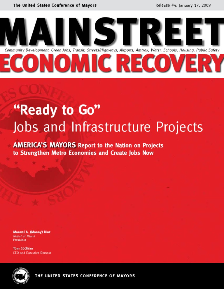 """Ready to Go"""": Jobs and Infrastructure Projects"""