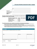 DocumentWorkflowAssessmentGuideHospital Comp