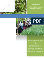Zest Prrogam - Sustainable Marketing Approach for Zest Network of Fruits and Vegetables Farmers of Zanzibar - Brian m Touray - Cordaid-Vso-uasid Cuso-zanzibar-uwamwiama