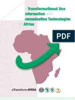 The Transformational Use of Information and Communication Technologies in Africa