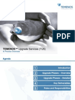 TUS_Process_Overview Upgrade to the Next Temenos Version