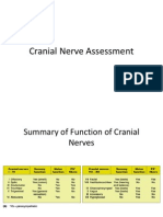 Cranial Nerve Assessment 2-3