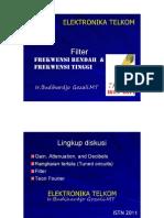PPT Filter Frekwensi