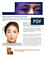 Regular Rhinoplasty vs Asian Rhinoplasty PDF File