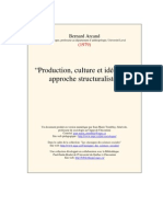 Arcand Production Culture Ideologie