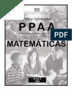 PPAA Matematica 8