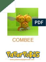 Combee Pokemon Papercraft