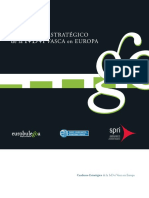 Euskadiko I+G+b-ren kuaderno estrategikoa Europan