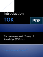 TOK - Introduction