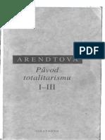 Arendtova - Puvod totalitarizmu