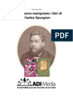 Le ADI hanno manipolato i libri di Charles Spurgeon
