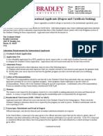 International Application Check Off List 007