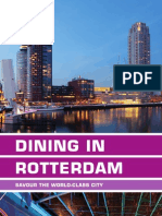 Dining in Rotterdam