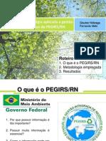 Inteligência Estratégica aplicada a gestão de resíduos sólidos - o caso do PEGIRS/RN