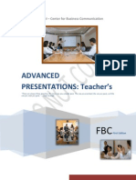 Teachers - Advanced Presentations - 1ª ed