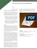 Ficha Técnica Difusión Proyecto PLAN DE ACTIVIDADES DE CARACTER NO ECONOMICO DE AIDIMA