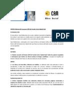 """XXXVII Edición. Bases. Concurso de Novela Corta """"Gabriel Sijé"""". Obra Social. Caja Mediterráneo"""