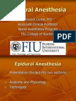 Epidural Anesthesia Vc07