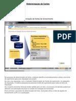 SAP - determinação dde fontes