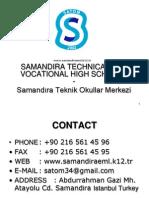 Turkey Satom English