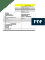 Listado de Productos Quimicos