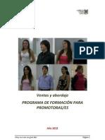 Manual de Promocion y Abordaje 2012