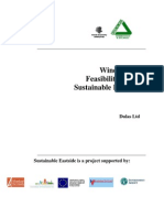 wind power feasibility sample