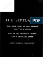 SEPTUAGINT/ENGLISH VERSION/VOL 1