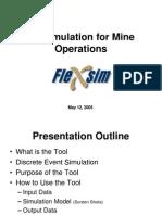 Mining modeling - Flexsim.ppt