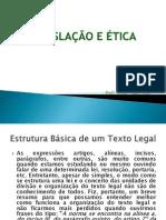 Estrutura básico texto legal